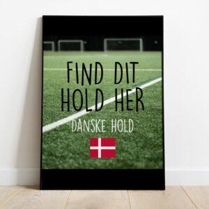 Find dit sportshold plakat her